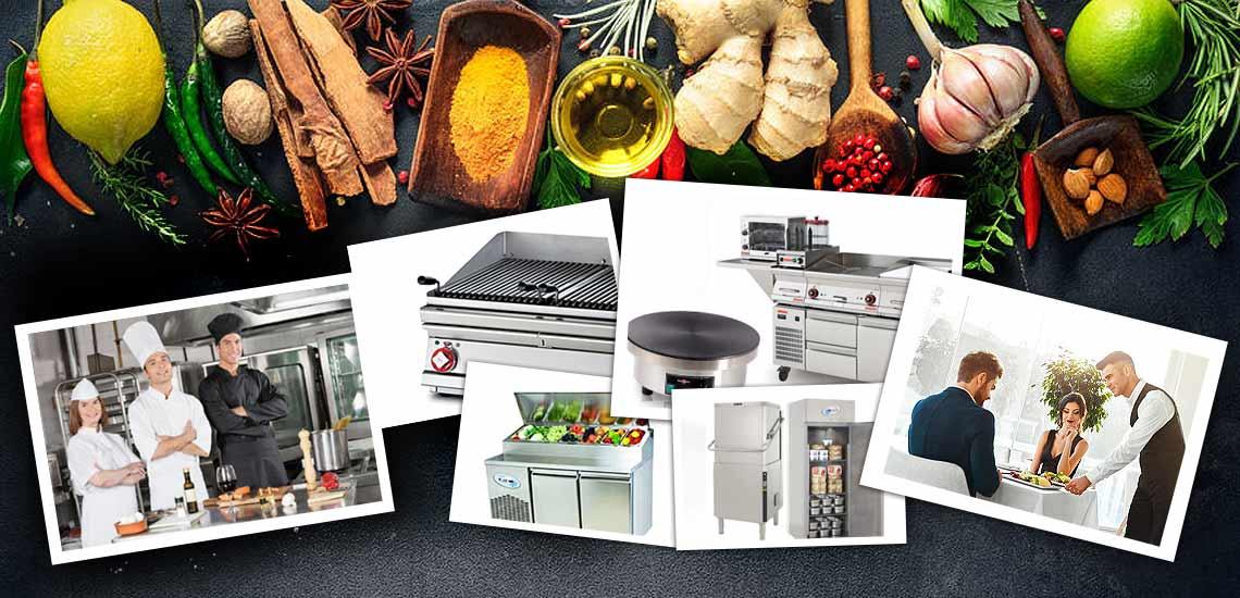 Storkøkken, industrikøkken og udstyr billigste priser, garanti, finansiering til pizzeria, kantine, restaurant