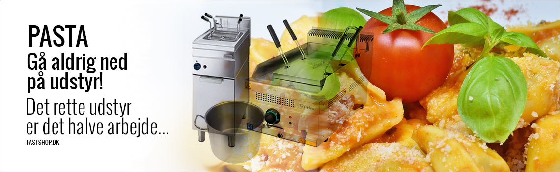 Professionelt pastakoger, spaghetti-koger og gryder til storkøkken og restaurant
